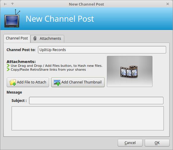 Interface - RetroShare Docs